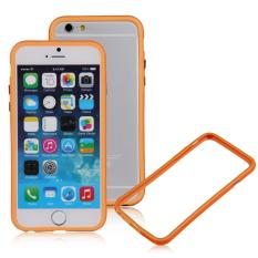 4.7Inch Bumper Frame Rubber Bumper Case For Apple Iphone 6 Orange