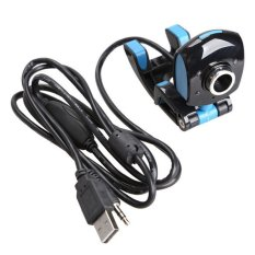 4 LED USB 2.0 50 Mega Pixels HD Webcam Web Cam with Mic For Laptop Desktop
