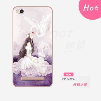 4A/4A cool Redmi phone case silicone drop-resistant soft case phone case
