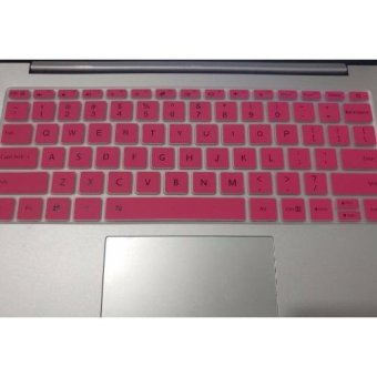 4Connect Silicon Keyboard Protector for XiaoMi Airbook 13.3 InchLaptop - Pink
