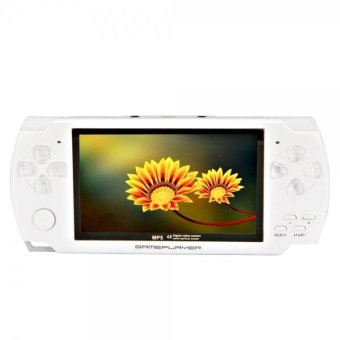 "4GB 4.3"" New Style MP3 / MP4 / MP5 Palyer With Camera / Game / E-book / AV-out / Voice Recorder (White) B4"