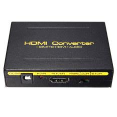 5.1CH 1080P HDMI To HDMI + SPDIF + RCA L / R Audio Splitter Extractor Converter US