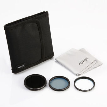 5 In 1 Kit 49mm MC UV + MC CPL + Fader ND Filter + Filter Case + Cleaning Cloth - Intl