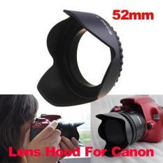 52 Mm Kelopak Bunga Kerudung Untuk Lensa Kamera Nikon Canon Sony 52 Mm Lensa Kamera