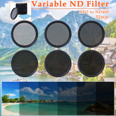 52mm Slim Fader Variable ND Filter Neutral Density For Nikon D7100 D7000 LF302 - Intl