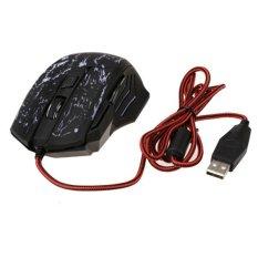 5500DPIbLED USB Optical Gaming Mouse (Black)