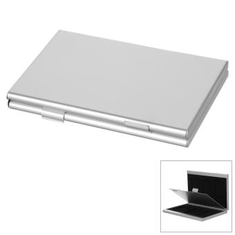 6-Slot SD Memory Card Storage Box - Silver