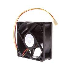 7 Centimetre CPU Cooler Fan 3 Pin Black (Intl)