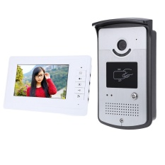 7 Inch HD Doorbell Camera Video Intercom Door Phone System with Monitor - intl