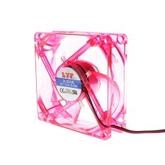 8 Centimetre CPU Cooler Fan (Red) - Intl