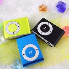 8G MINI Clip MP3 Player With Micro TF / SD Card Slot Sports Mini MP3 Music Player (Green)