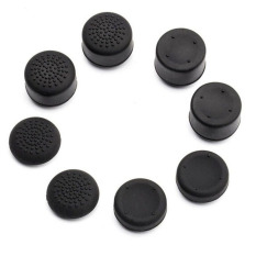 8pcs Silicone Thumbstick Joystick Cap Cover For Sony PS4 Controller Hap