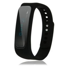 A8 Fitness Tracker Bluetooth Smart Sports Bracelet for roid & iOS Smartphone Black - intl