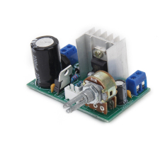 AC / DC 3-40V LM317 Adjustable Voltage Regulator Step-down Power Supply Module