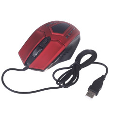 Adjustable 2400 DPI 6D Optical Gaming Mouse USB Wired LED Game Mice For Computer Peripherals