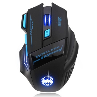 Adjustable 2400DPI Optical Wireless Gaming Game Mouse For Laptop PC- intl