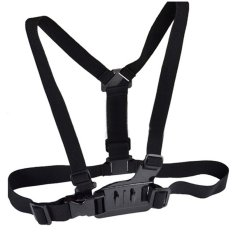 Adjustable Chest Body Harness Belt Strap Mount For GoPro Hero 4/3 + / 3/2 / 1 (Intl)