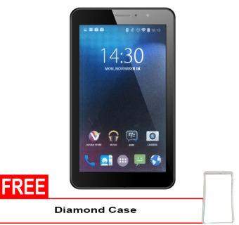 Advan Vandroid E1C 3G Ram 1GB- 8GB – Putih + Gratis Diamond Case
