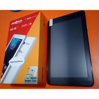 Advan Vandroid E1C 3G – RAM 1GB – 8GB – Putih + Silicon Case