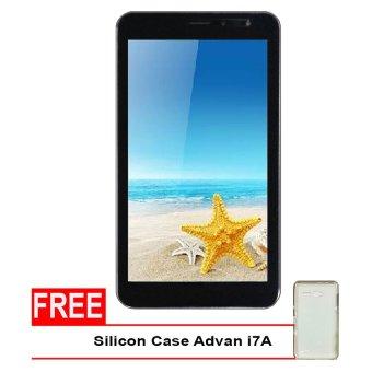 Advan Vandroid i7A 4G LTE - 8GB - Coffee + Gratis Silicon Case