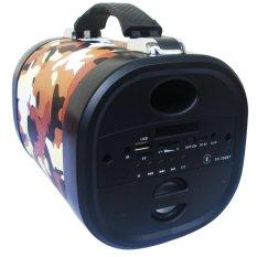 Advance Tentara TP-700BT Speaker Bluetooth Portable - Coklat