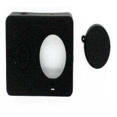 Akana's Silicon Case and Lens Cap Rubber For Xiaomi Yi Sport Camera - Hitam