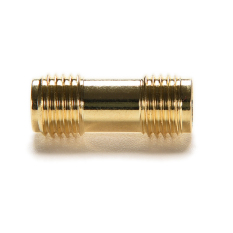 Amango Adapter SMA Female To SMA Female Jack RF Connector Gold Plating (Intl)