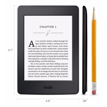 Amazon 7th Gen Kindle Paperwhite eBook Reader 300ppi No Ads BLACK