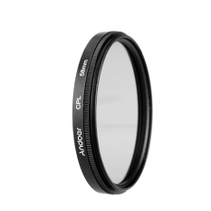 Andoer 58mm Digital Slim CPL Circular Polarizer Polarizing Glass Filter For Canon Nikon Sony DSLR Camera Lens (Intl)