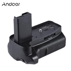 Andoer BG-1H Vertical Grip Compatible with 2 * LP-E10 for Canon EOS 1100D 1200D 1300D / Rebel T3 T5 T6 / kiss X50 X70 DSLR Cameras Outdoorfree - intl