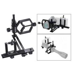 Andoer Universal Metal Telescope Phone Digital Camera Mount Adapter Bracket Smartphone Holder Clip for Monocular Spotting Scope Microscope Telephoto Lens for iPhone 7Plus/ 7/ 6s/ 6Plus Outdoorfree ^ - intl