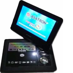 "Asatron DVD Portable 9"" PDVD-993 TV / USB / FM / SD Card (Black)"