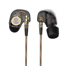 Asli KZ Kebisingan Membatalkan Headphone Olahraga Makan Headset Di Telinga Hi Fi Bass .