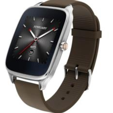 ASUS ZenWatch 2 - WI501Q - Silver - Leather Camel
