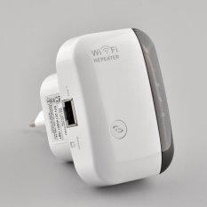 Aukey 300Mbps Rentang Extender Jaringan Nirkabel Wifi Super Cepat Sinyal Pengulang Baru