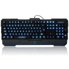 AULA Dragon Tooth II Wired USB Gaming Keyboard 104 Keys With 3 LED Backlight (BLACK)