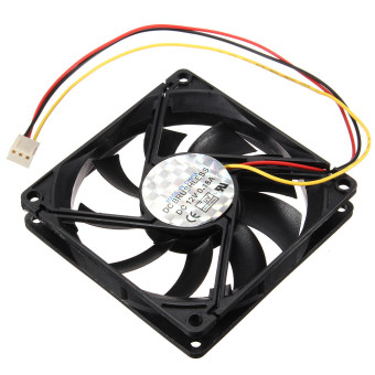 Autoleader 3 Pin 80mm 15mm PC CPU Cooling Fan Heatsinks Radiator For Desktop Computer 12V