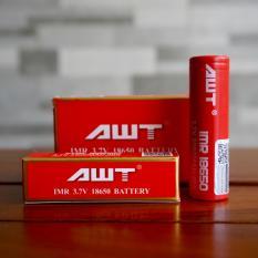 AWT Battery IMR 18650 3.7V 3000 Mah 40A Battery Vape Rokok Elektrik