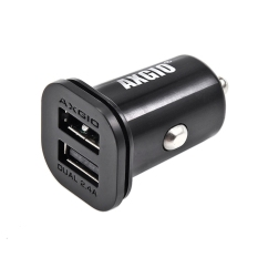 AXGIO ACC-S2 4.8A Dual USB Small Car Cigarette Charger f iPhone 6s4s iPad Galaxy S6 & USB-Powered Devices