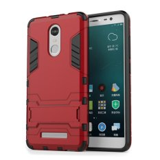 Back Case Xiaomi Redmi Note 3 Pro Iron Man Kick Stand Series - Merah