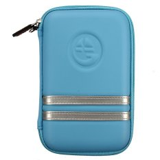 Bag Cover Protector For TOMTOM Garmin GPS HDD 5-inch (Blue)