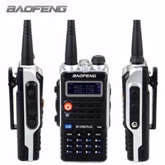 Baofeng Walkie Talkie BF-UVB2PLUS VHF/UHF Dual Band DCS Ham Two Way Transceiver