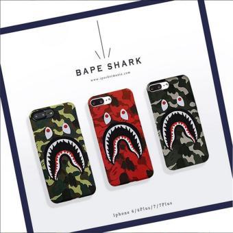Bape Shark Case Army For Iphone 6Plus/6splus