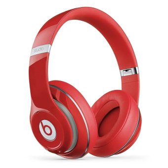 Beats Studio Wireless Over Ear Headphone - Red