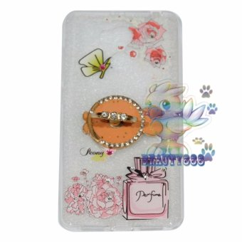 Beauty Case For Xiaomi Redmi 4 Prime Softshell Animasi Fish In The Sea + Holder Ring