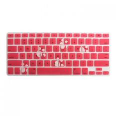 "Bigskyie Soft Pattern Keyboard Silicone Cover Case Protect Skin For MacBook Pro 13-15"" F"