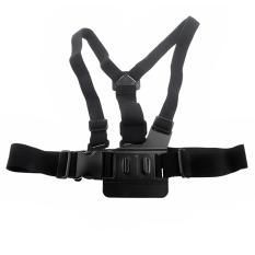 Black Adjustment Elastic Body Chest Straps Belt For Gopro Hero2&Hero3 (Intl)