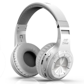 Bluedio HT Turbine Wireless Bluetooth 4.1 Stereo Headphones withMic (White)