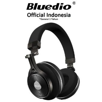bluedio t3 plus 3d sound effect bluetooth headset mic with micro sd hitam lazada indonesia. Black Bedroom Furniture Sets. Home Design Ideas