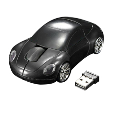 Bluelans Racing Car Shaped 2.4GHZ Wireless Optical Mouse / Mice USB 2.0 For PC Laptop Black